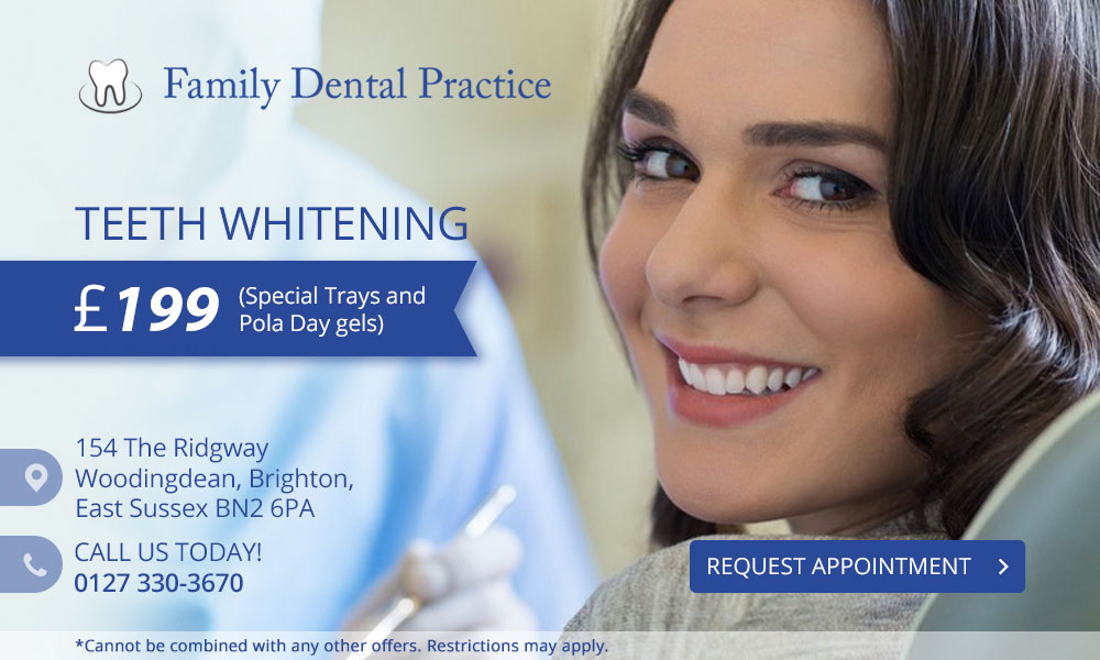 Fees and Offers  - Family Dental Practice - Brighton - UK